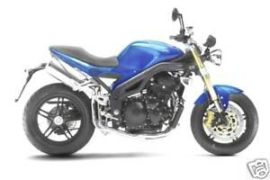 Triumph Touch Up Paint Neon Blue Speed Triple 1050 955i Ebay