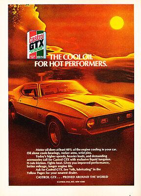 Classic Vintage Advertisement Ad H83 Chevy 1971 Chevrolet Camaro Corvette