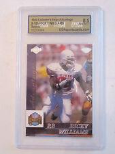 1999 RICKY WILLIAMS #186 USA GRADED 8.5 NM-MT FOOTBALL CARD    BOX W