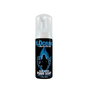 H2ocean blue green foam soap 1 7 oz tattoo aftercare for Soap for new tattoo