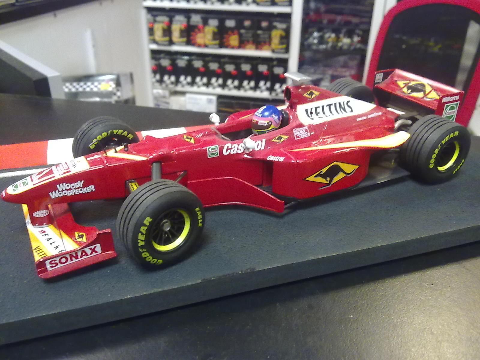 Williams Mecachrome FW20 1998 1 18 Jacques Villeneuve