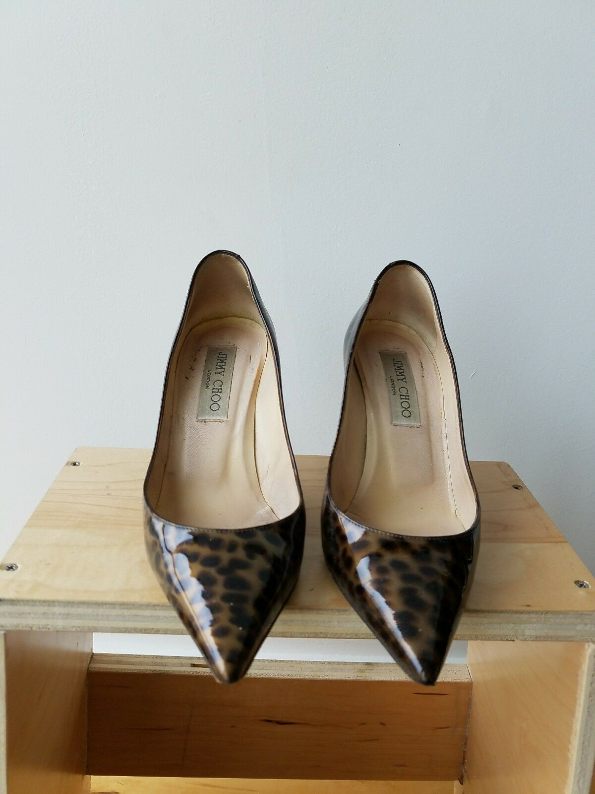 Jimmy Choo Leopard  Patent Leather Dimensione 36.5  n ° 1 online
