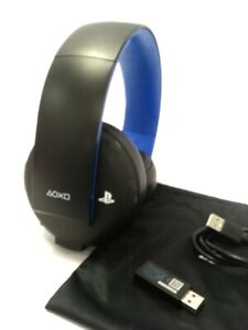 Sony Wireless Gaming Headset Stereo 2.0 PlayStation PS3 PS4 &...