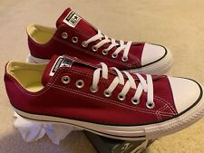 a89d6c7d758f Converse Basic Chucks All Star Ox M9691c Maroon 11 for sale online ...
