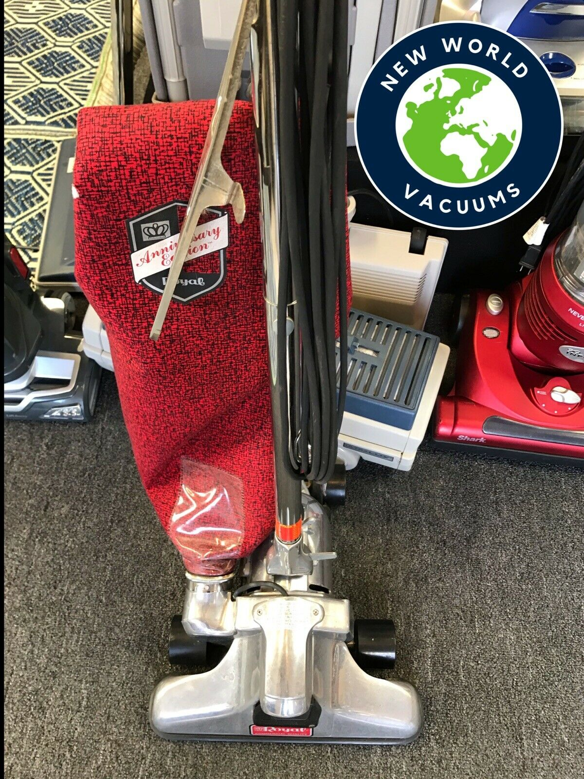 Royal Commercial Quality Anniversary Edition Upright Vacuum Cleaner