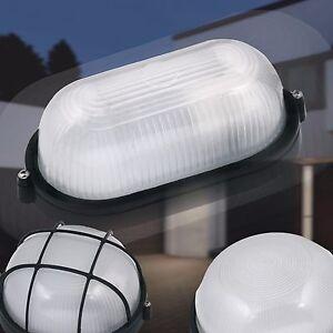 Kellerleuchte Außenleuchte weiß E27 Kellerlampe Feuchtraumleuchte Wandleuchte