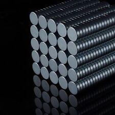10x Neodym Scheiben Magnete D8x2 NdFeB N45 1400g stark rund