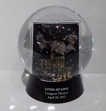 Living On Love Broadway Play Snow Globe Opening Night SWAG See Video Of Globe!