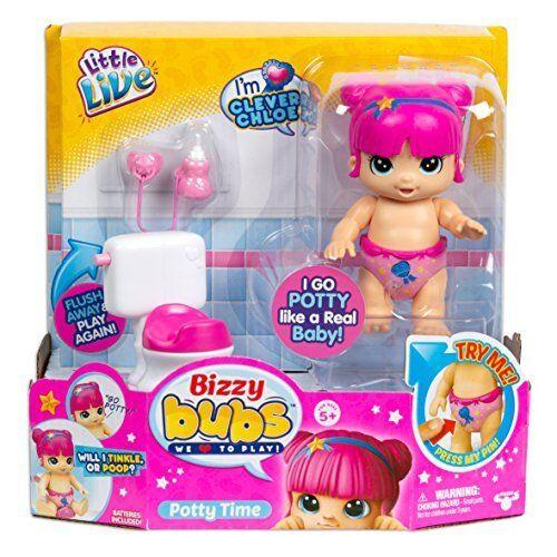 Little Live Bizzy Bubs 28754 Potty Time Multi-Colour