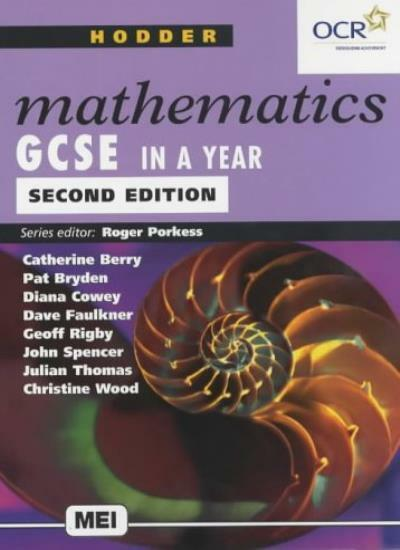 Hodder Math GCSE In A Year 2ED (Hodder GCSE Mathematics),Dave Faulkner