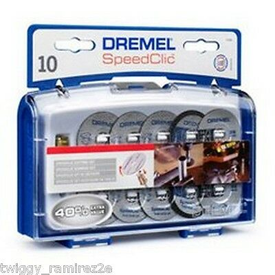 Dremel sc690 set DISCHI accessori TAGLIO speedclic new