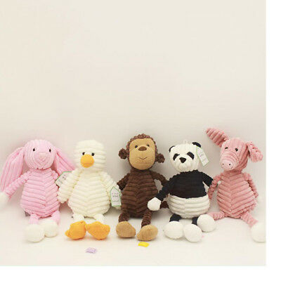 Baby Toddler Infant Plush Soft Cute Animal Toy Sleep Appease Towel Blanket Z