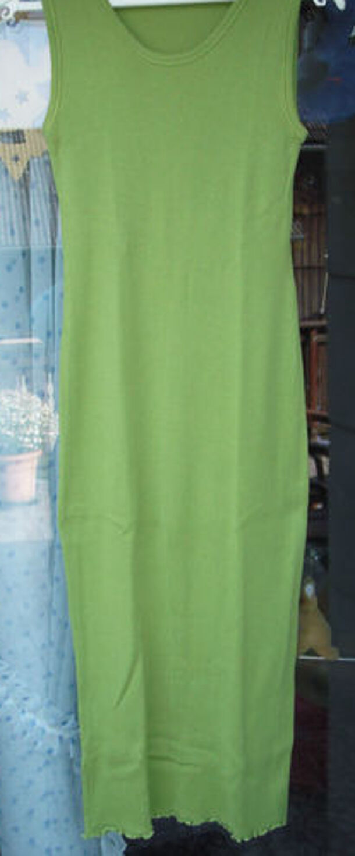 Sommerkleid grün N3 MARC CAIN wadenlang Gr.38 Kleid  WIE NEU