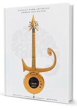 PRINCE GUITAR & BASS - PAISLEY PARK Archives exhibition tour book - Brand New