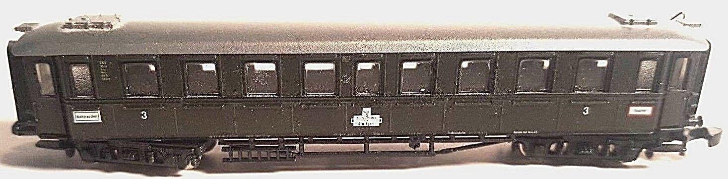 Marklin Z 87945b Württemberg Era II Express Passenger car 3rd class (No Box)