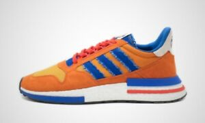 comprar nuevo correr zapatos tienda de liquidación Details about Adidas x Dragon Ball Z DBZ Son Goku ZX 500 RM EU 42 2/3 | US  9 | UK 8.5