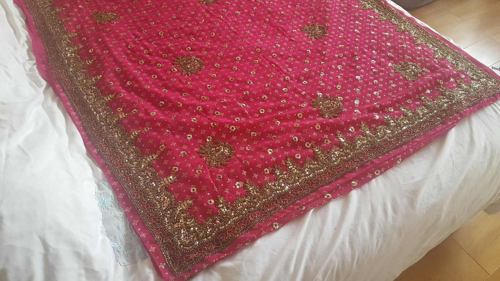 Bollywood Asian Indian saree with blouse size 16-18