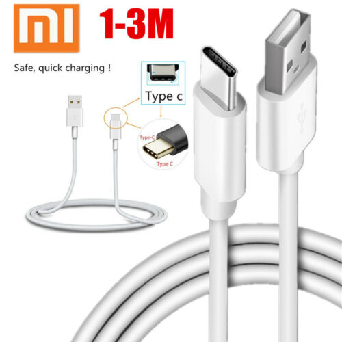 1//2//3M Xiaomi Smartphone Cable 2A Micro USB//TYPE-C Super Charging