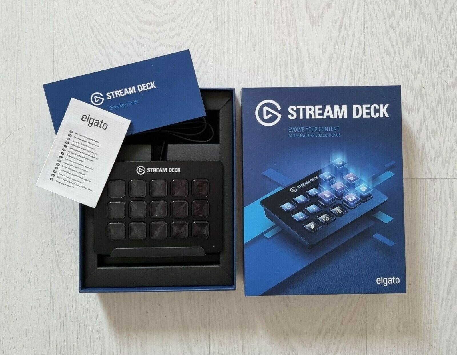 Elgato Stream Deck with 15 Customizable LCD keys