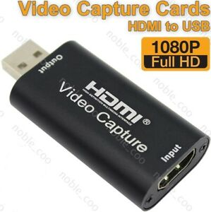 HDMI-to-USB-2-0-Video-Capture-Card-1080P-HD-Recorder-Game-Video-Live-Streaming