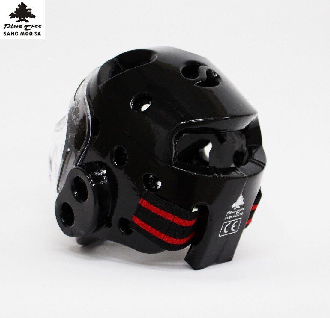 WT Kopfschutz mit Visier Kampfsporthelm Gesichtsschutz Taekwondo Taekwondo Taekwondo Helm Maske XS-L 612229