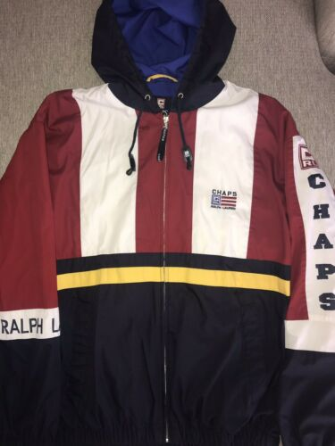 Vintage Polo Ralph Lauren Snow Beach Ski Stadium