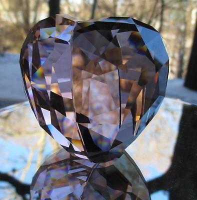 SWAROVSKI Crystal Large Kakadu Red Love Heart New and Mint in Box