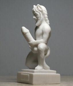 Marble phallus sculpture