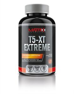 MATRIX-T5-XT-EXTREME-120-COUNT-WEIGHT-LOSS-DIET-PILLS-TABLETS-ENERGY-BOOST