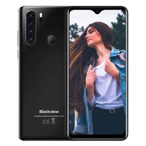 """6.49"""" Blackview A80 Pro 4Go+64Go Smartphone 4G Téléphone Portable Débloqué Noir"""