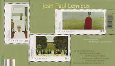 Canada Stamps -Souvenir Sheet of 3 -Art Canada: Jean-Paul Lemieux #2068 -MNH