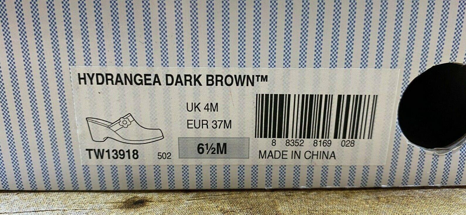 Tommy Hilfiger Hydrangea Dark Brown Mule Wedges C… - image 12