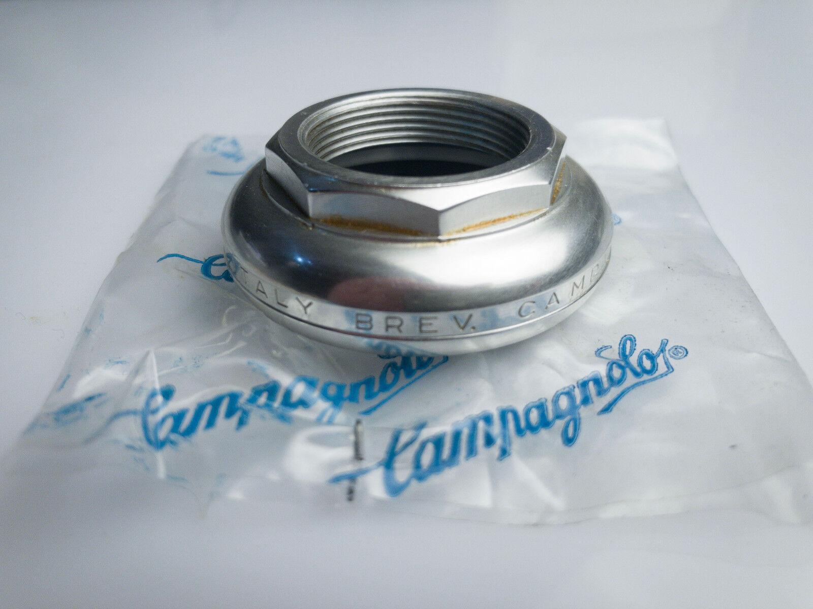 SUPER RECORD CAMPAGNOLO TOP CAP HEADSET BRITISH THREAD NEW NOS 1 x24 tpi sterzo