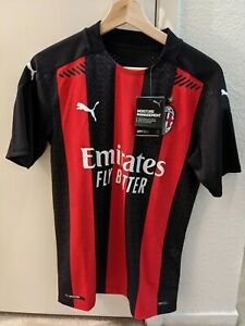 New Ac Milan Home Authentic Jersey 2020 21 S Ebay