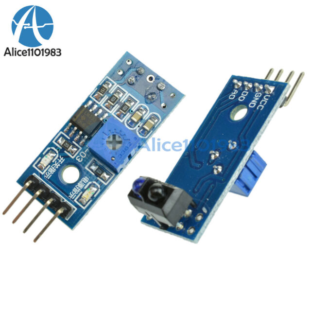 5PCS Obstacle Avoidance TCRT5000 Infrared Track Sensor Module For Arduino