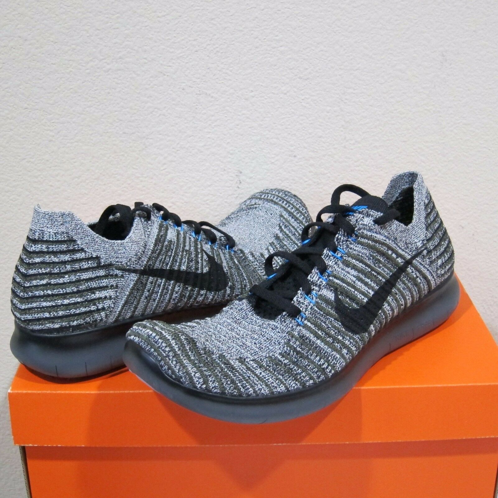 Nike RN Flyknit Para Hombre Zapatillas Para Correr Free Free Free  130 86cdc4