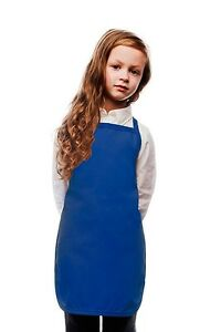 Daystar-Aprons-1-Style-250NP-Children-039-s-No-pocket-kids-bib-apron-Made-in-USA