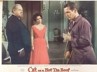 Elizabeth Taylor & Paul Newman in Cat on a Hot Tin Roof 1958 MGM  Sexy Couple !!