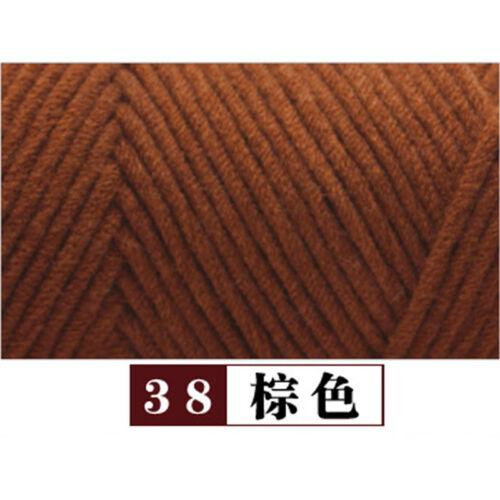 Skein 100G Milk cotton velvet Chunky Yarn Weave Crochet DIY Super soft Knitting