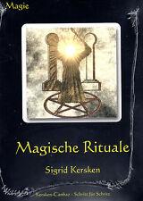 MAGISCHE RITUALE - Sigrid Kersken BUCH - NEU OVP
