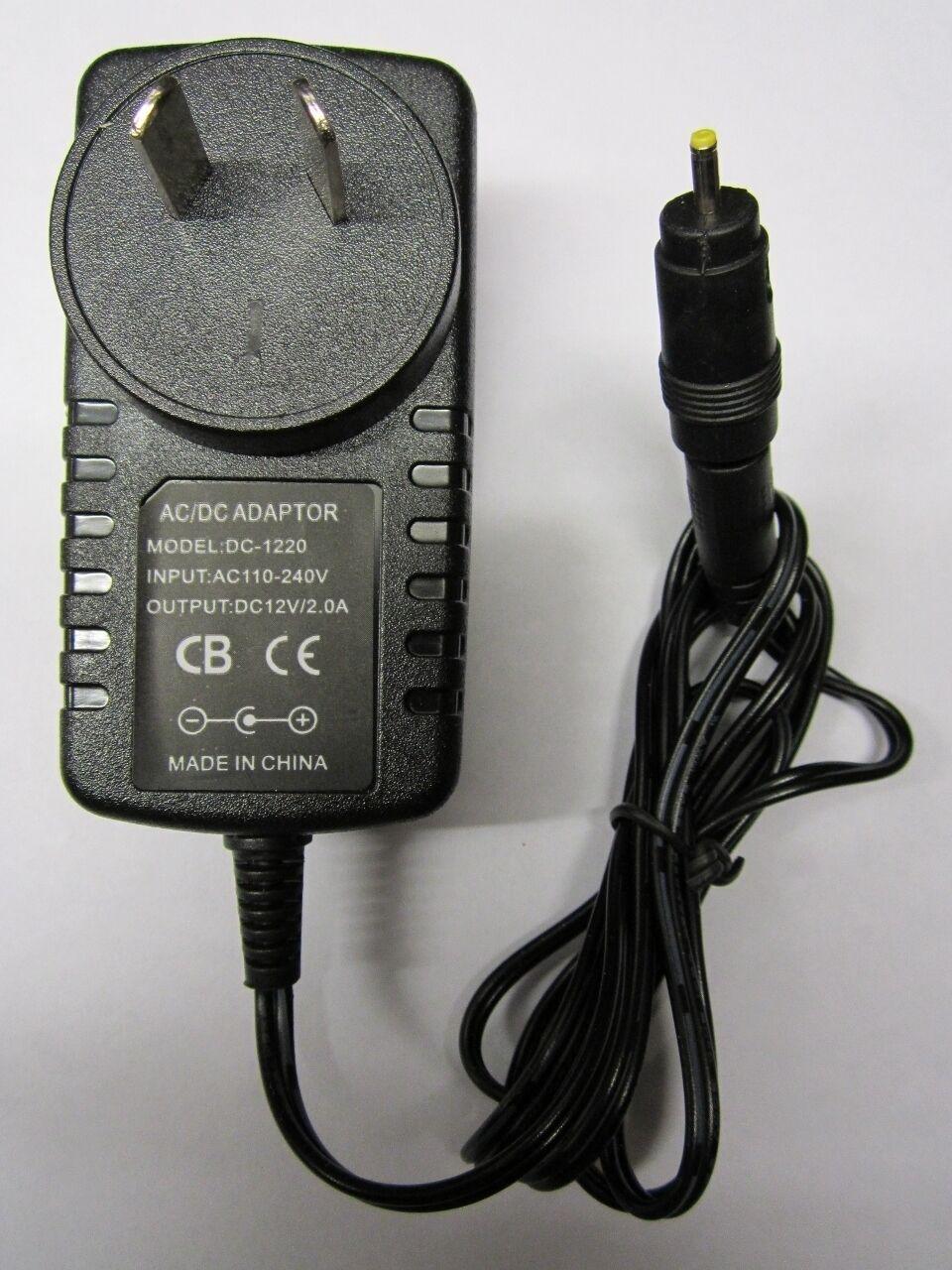 AUS 12V 2A Mains AC-DC Switching Adaptor Power Supply 2.5mmx0.8mm 2.5x0.8 Plug