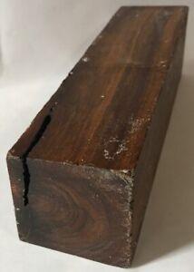 Real-Lignum-Vitae-Wood-2x8-Guaiacum-officinale-Turkey-Calls-Knifes-Tool-Handles