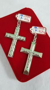 Gold-Authentic-18k-white-gold-cross-pendant-1pc-only