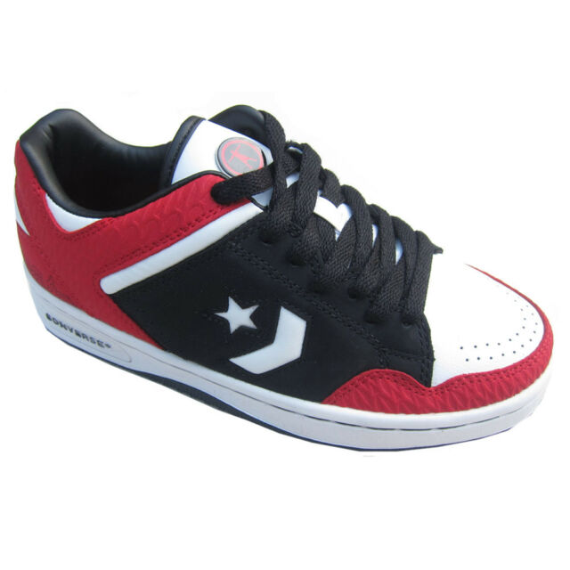 a6f358eb4b70d6 Converse Wade Weapon Ox Black Trainers Size UK Adult 5 5.5 6 Boys ...