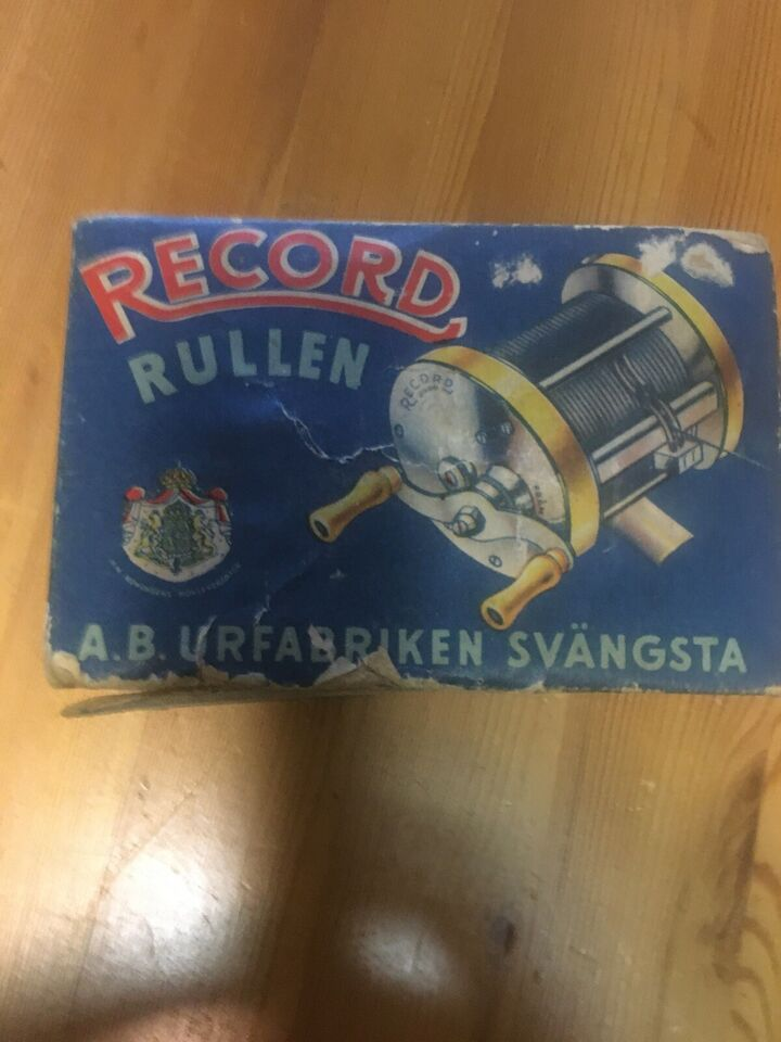 Fastspolehjul, Record Rullen