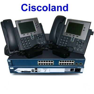 3560-24PS-S CISCO CCNA CCNP CCIE VOICE Lab Kit  CME 8.6 Cisco 3825 CP-7960G