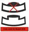 2 X Film Protecteur Pour Jura s8-s80-e8-e80-e6 tasses Armoire goutte à goutte en tôle