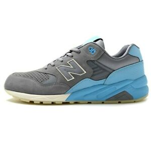 b1d421b5704a4 SALE MENS NEW BALANCE 580 RUNNING GREY BLUE MRT580UR BRAND NEW IN ...