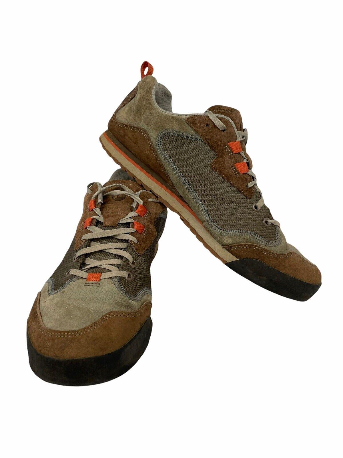 Merrell Burnt Rock Travel Suede Hiking Shoe Sneaker Sz 13 Dusty Olive J95233
