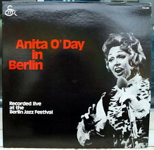 """Anita O'Day """"In Berlin, Recorded Live At The Berlin Jazz Festival"""" 1971 RCA lp"""